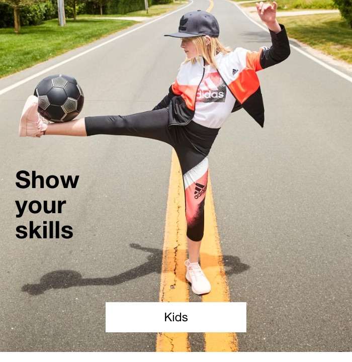Show your skills. Kids.