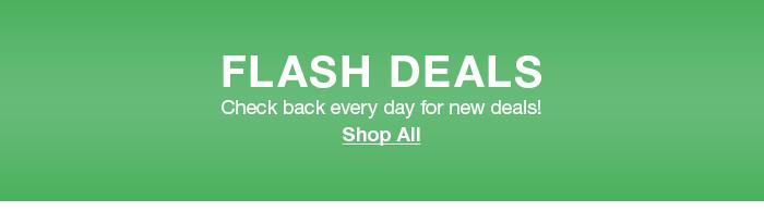 Flash Deals, Shop All