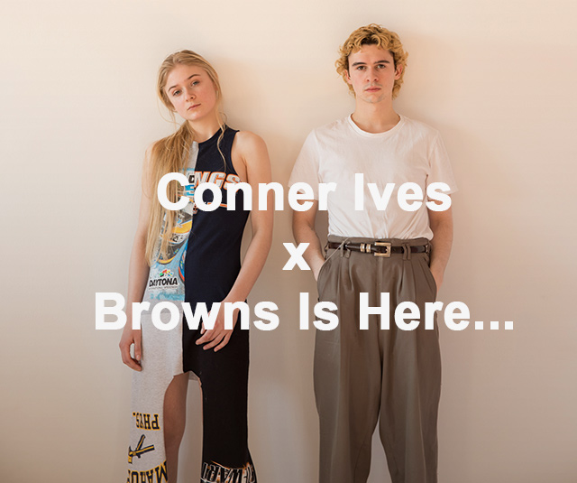 Conner Ives x Browns Is Here...