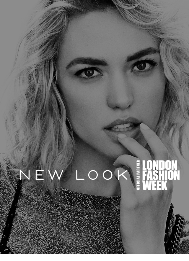 OFFICIAL PARTNER OF LONDON FASHION WEEK