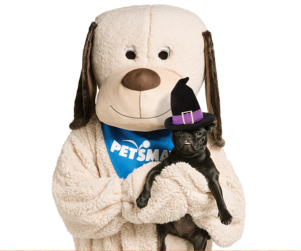 Dress your pet in their Halloween best for an exclusive photo with PetSmart's Chance the Dog!