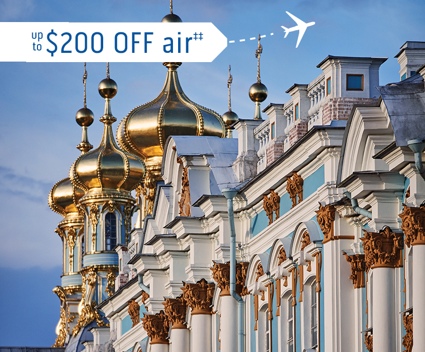 Image of Catherine Palace in St. Petersburg  - up to $200 OFF air‡‡ | Click here to book now