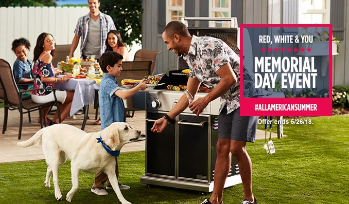 RED, WHITE & YOU | MEMORIAL DAY EVENT | #ALLAMERICANSUMMER | Offer ends 5/26/18.