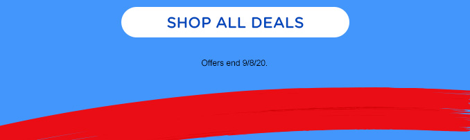 SHOP ALL DEALS | Offers end 9/8/20.