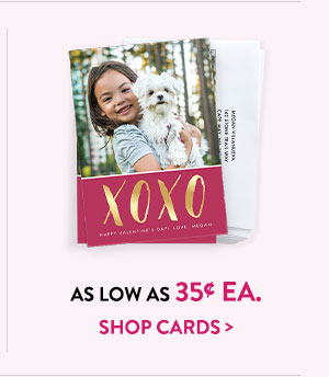 As low as 35¢ ea. | Shop cards >