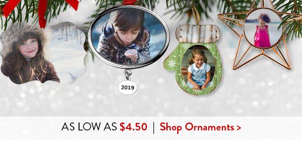 As low as $4.50   Shop Ornaments