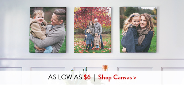 As low as $6   Shop Canvas