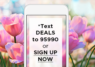 *Text DEALS to 95990 or SIGN UP NOW