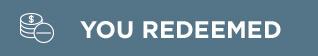 YOU REDEEMED