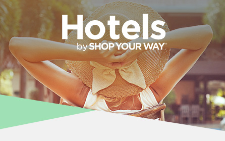Hotels by SHOP YOUR WAY®