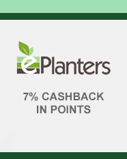 ePlanters 7% CASHBACK IN POINTS