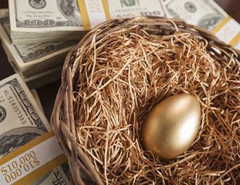 Three Keys to a Big Nest Egg