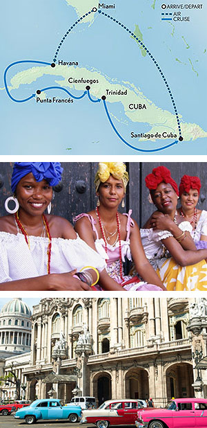 Cuba by Land & Sea: A People-to-People Cruise