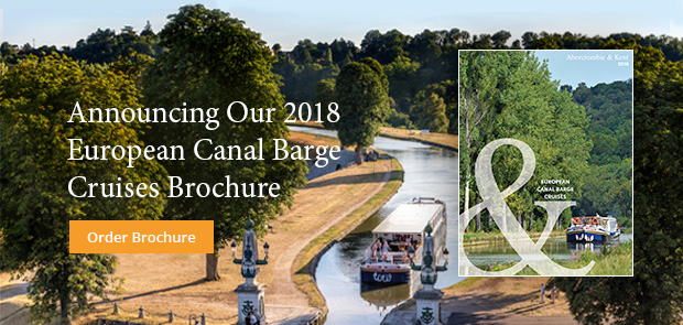 Announcing Our 2018 European Canal Barge Cruises Brochure