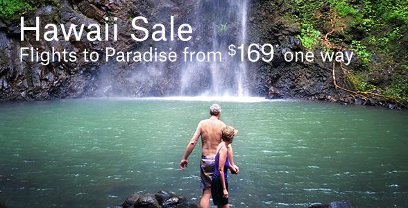 Flights to Hawaii from $169* one way