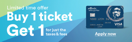 Limited time offer Buy 1 ticket Get 1 for just the taxes & fees