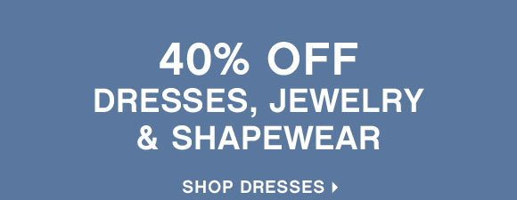 Shop 40% off Dresses