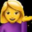 Info desk emoji