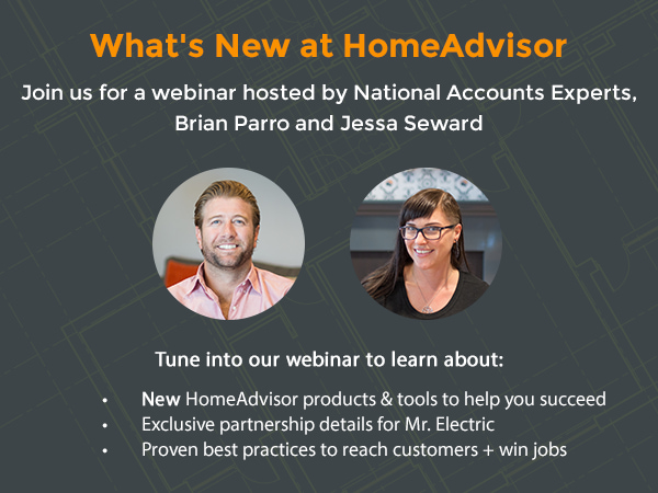 What's New at HomeAdvisor