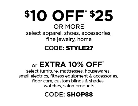 $10 OFF $25 OR MORE