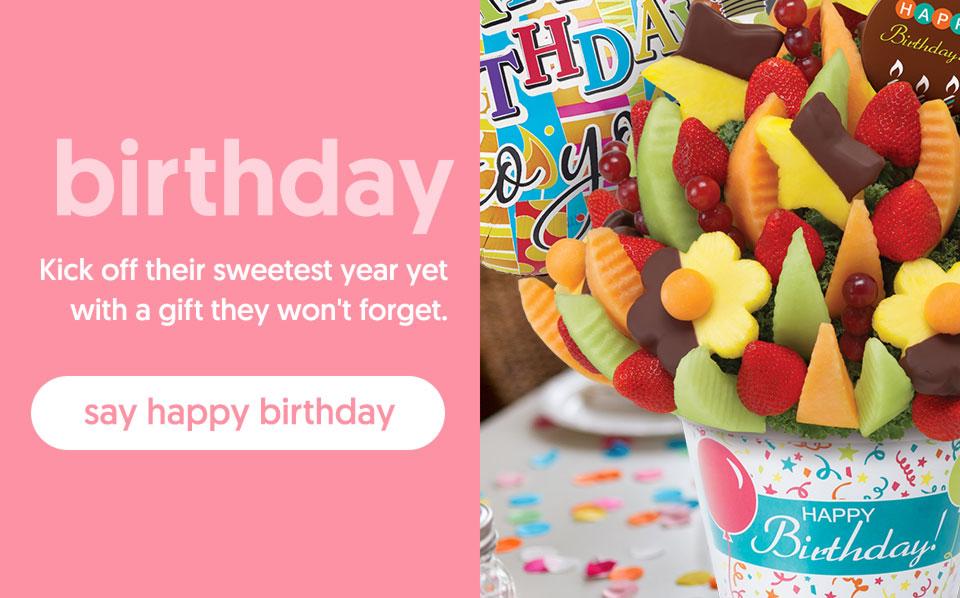 birthday - say happy birthday