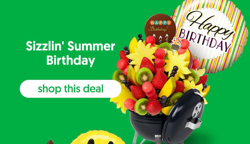 Sizzlin' Summer Birthday - shop this deal