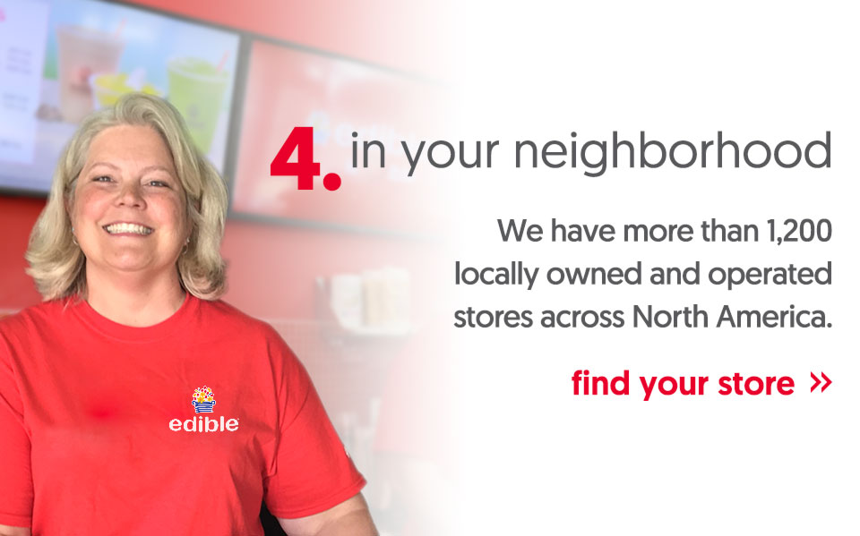 We have more than 1,200 locally owned and operated stores across North America.- find your store