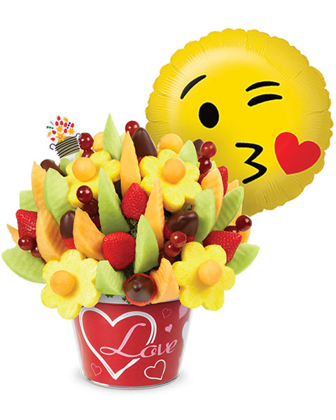 Enjoy FREE chocolate dipped strawberries added to this arrangement! - get this deal
