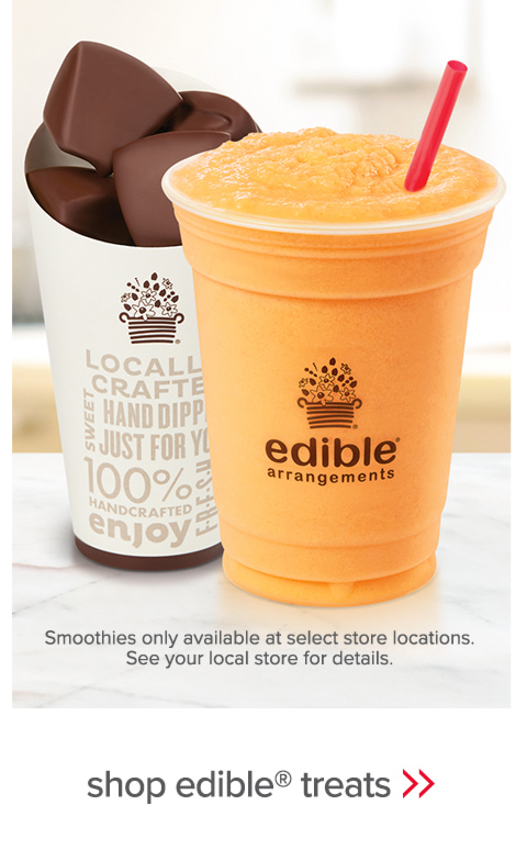 Our grab-and-go products are the ultimate in on-the-go refreshment. - shop edible® treats