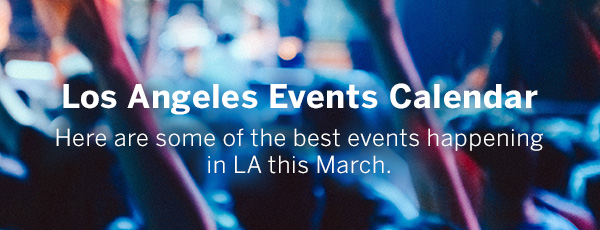 Los Angeles Events Calendar