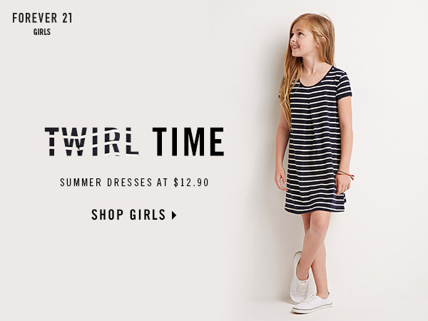 Forever 21 Girls. Twirl Time. Summer Dresses at $12.90. Shop Girls. | Forever 21 Canada