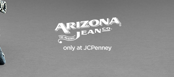 THE ORIGINAL ARIZONA JEAN CO.® only at JCPenney