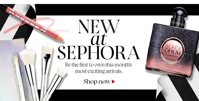 NEW AT SEPHORA