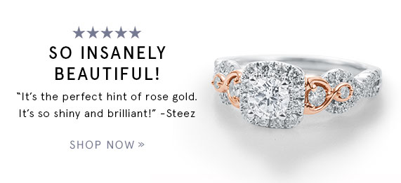 So Insanely Beautiful! Now & Forever Diamond Engagement Ring