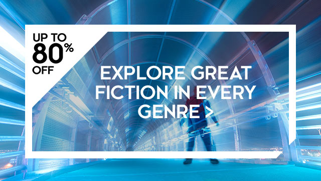 Save up to 80% off on great fiction in every genre at Kobo.