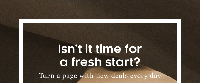 Turn a page with new deals every day
