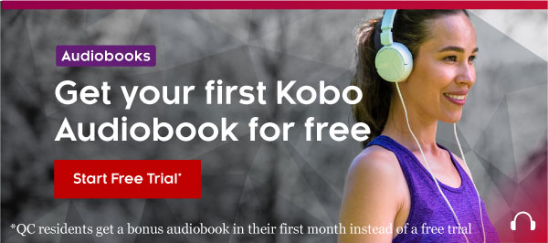 Get your first Kobo Audiobook for free