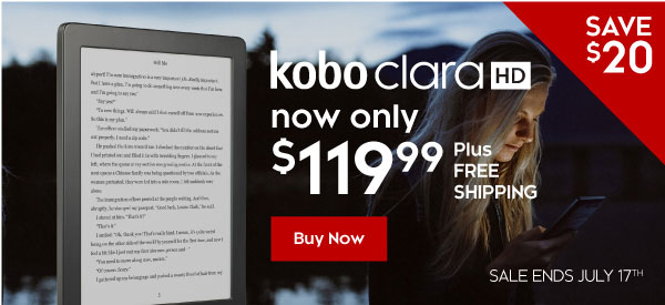 Save $20 | Kobo Clara HD now only $119.99
