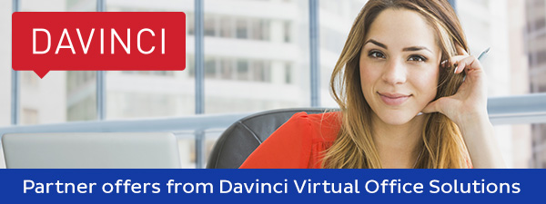 Special offer from Davinci Virtual Office Solutions