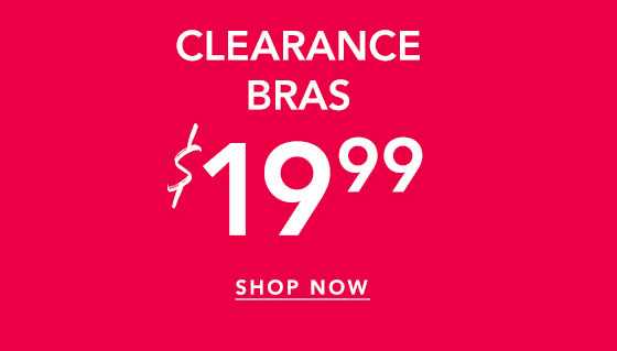 Shop Clearance Bras