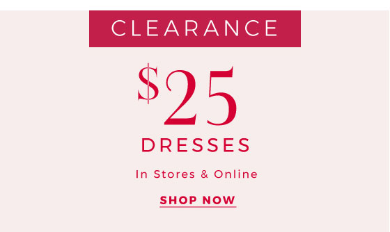 Shop Clearance Dresses