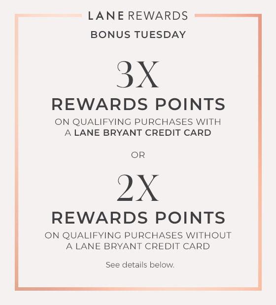 Earn Lane Rewards