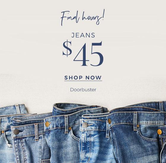 Shop Doorbuster Jeans