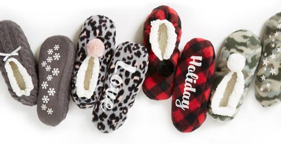 maurices slipper socks