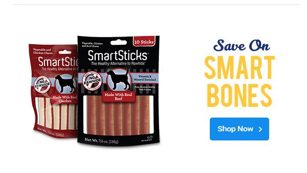 Save on Smart Bones | Shop Now >