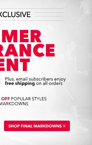 Plus, email subscribers enjoy free shipping on all orders. Save an extra 10% Off popular styles and final markdowns.