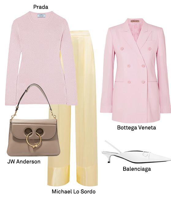 Net-A-Porter Pastel Shades