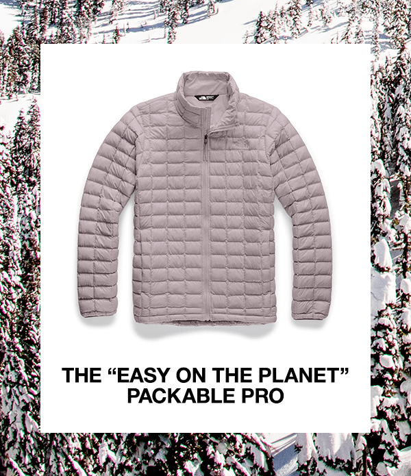 The 'Easy On The Planet' Packable Pro