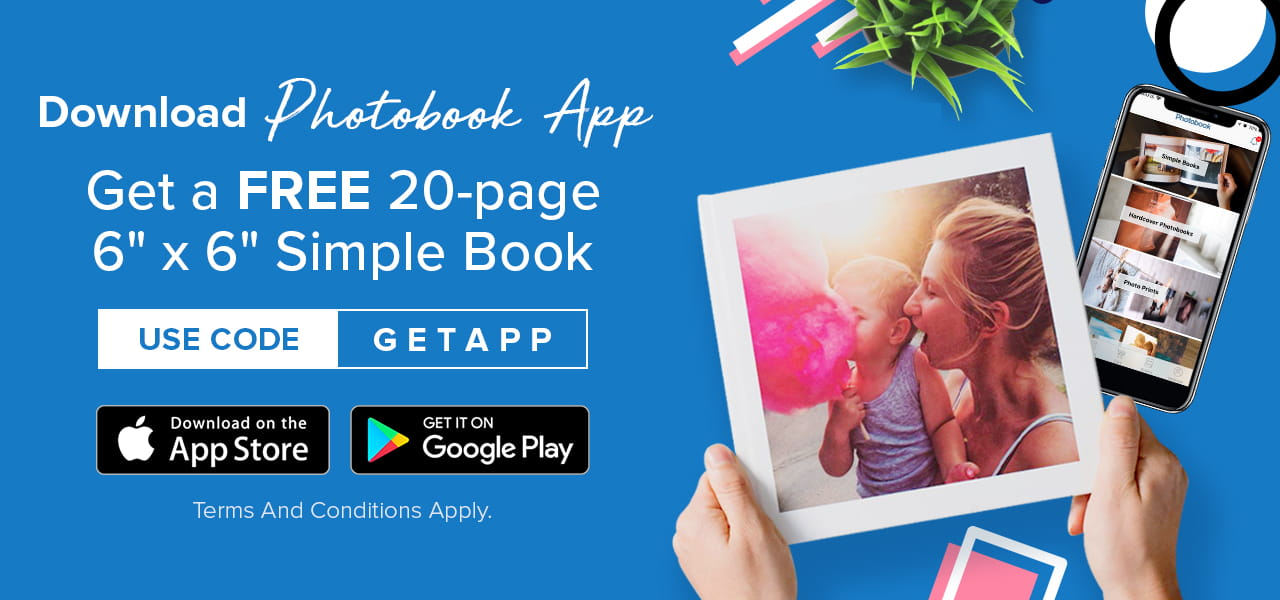Download Now and Enjoy FREE 20 pages, 6 X 6 Simple Book USE CODE : GETAPP