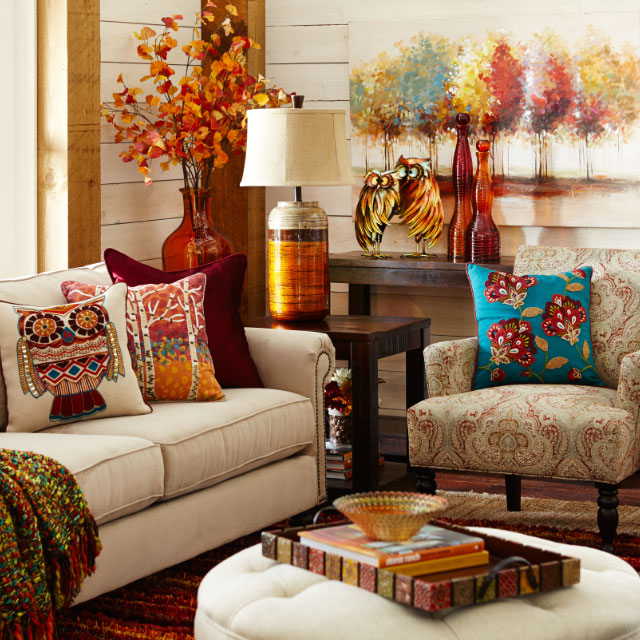 Fall Is Almost Here Get Your Living Room Ready From Pier 1 Imports